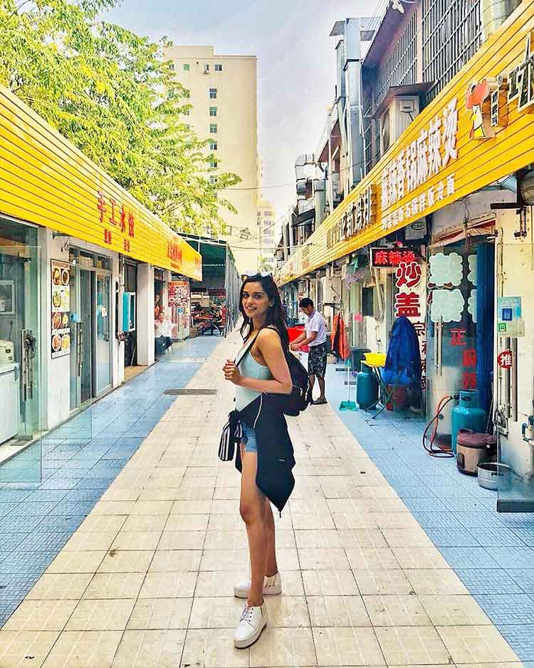 Manushi Chhillar's travel style is just on point