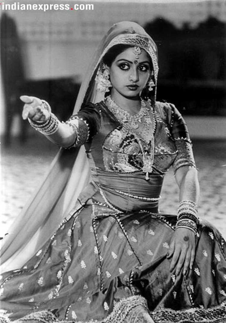 Sridevi became one of the topmost actresses in Bollywood