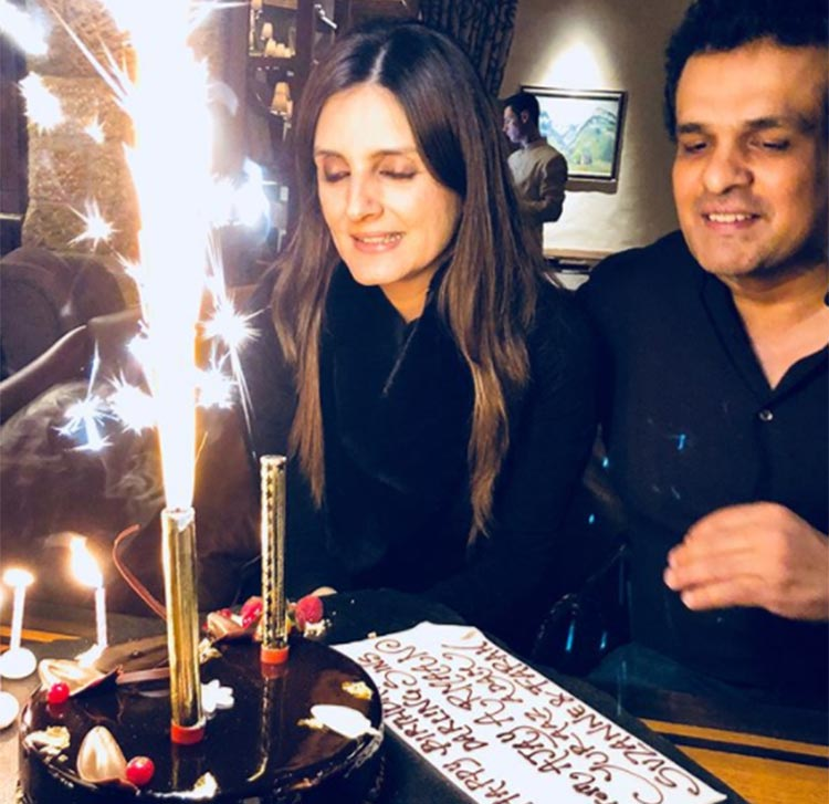 Sussanne Khan's sister Simone celebrates her birthday in Switzerland