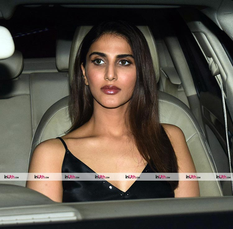 Vaani Kapoor at Karan Johar's Valentine's Day party