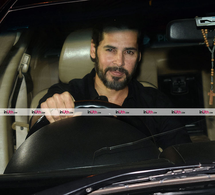 Dino Morea at Karan Johar's Valentine's Day party
