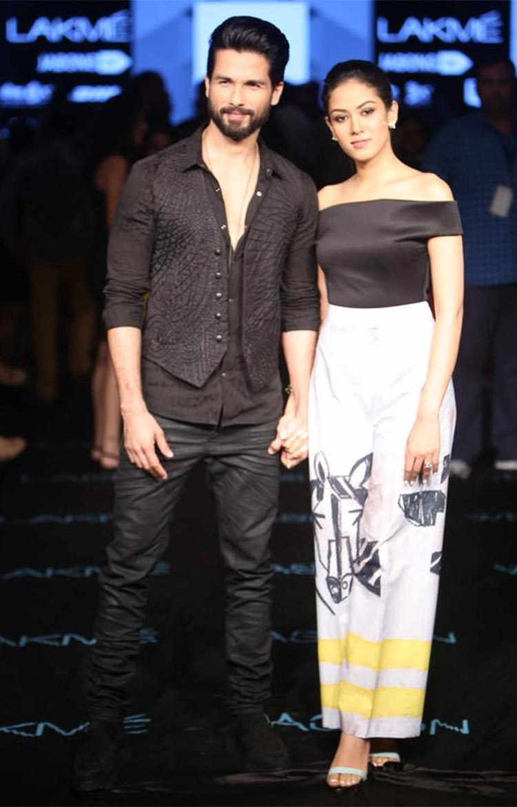 Mira Rajput made her Lakme Fashion Week debut in 2015
