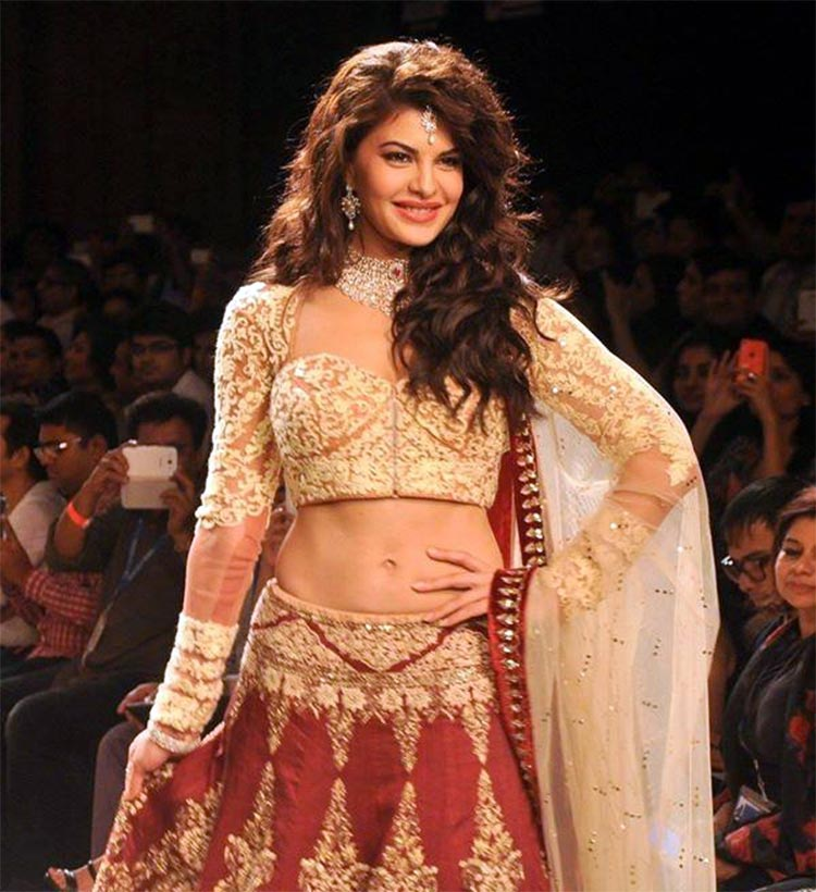 Jacqueline Fernandez made her Lakme Fashion Week debut in 2014