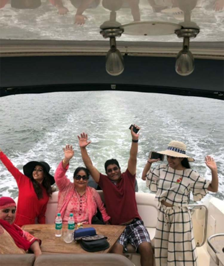 Hina Khan's Goa vacation with her family