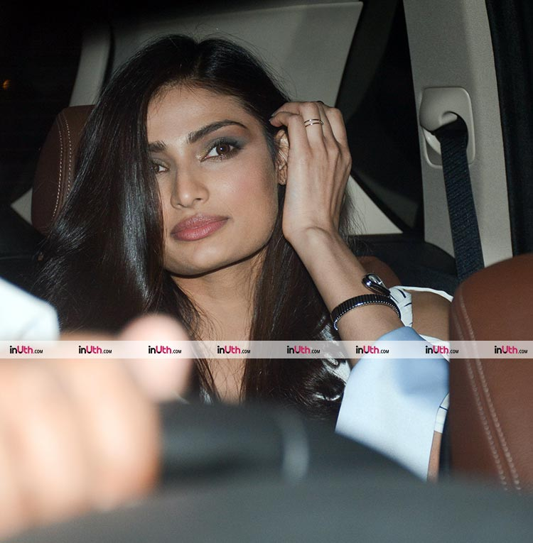 Athiya Shetty at Karan Johar's Valentine's Day party