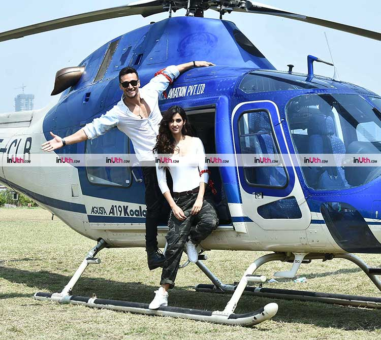 Tiger Shroff and Disha Patani all set to launch Baaghi 2 trailer