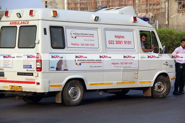 Ambanis send an ambulance at Mumbai airport to receive Sridevi's body