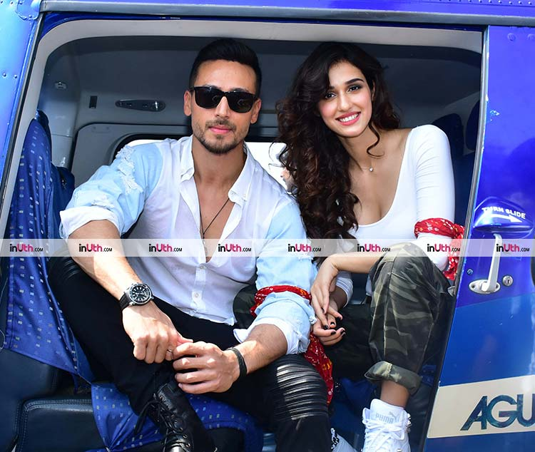 Tiger Shroff and Disha Patani killing it at Baaghi 2 promotions