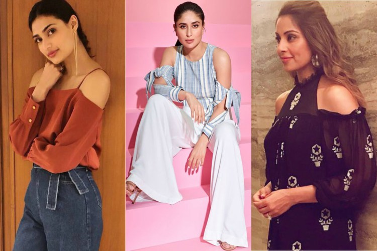 Athiya Shetty, Kareena Kapoor, Bipasha Basu donning cold-shoulder sleeves