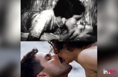 Valentine's Day, Kisses Day, Bollywood kisses, Dilip Kumar, Aamir Khan, Raja Hindustani, Karisma Kapoor, Hrithik Roshan, Dhoom 2, Rangoon