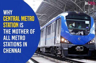 Chennai Central Metro Station