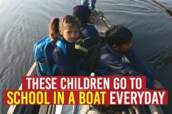 No buses or vans, these Delhi kids go to school on a boat every day