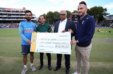 Team India, SA join hands for noble cause, donate big amount to fight water crisis in Cape Town