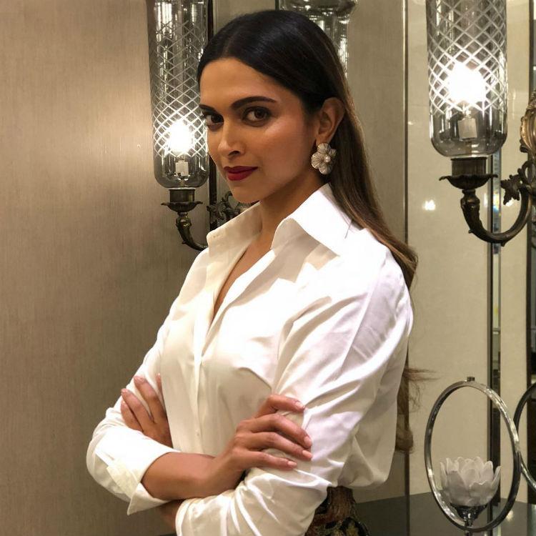Deepika Padukone in a Zara shirt