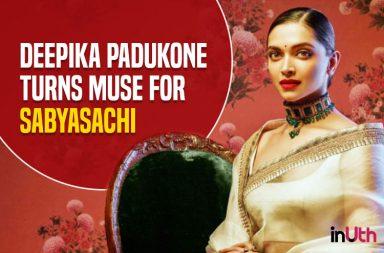 Deepika Padukone for Sabyasachi