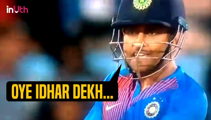 Watch: MS Dhoni loses cool over Manish Pandey for not paying attention & it's making Twitterati go ROFL