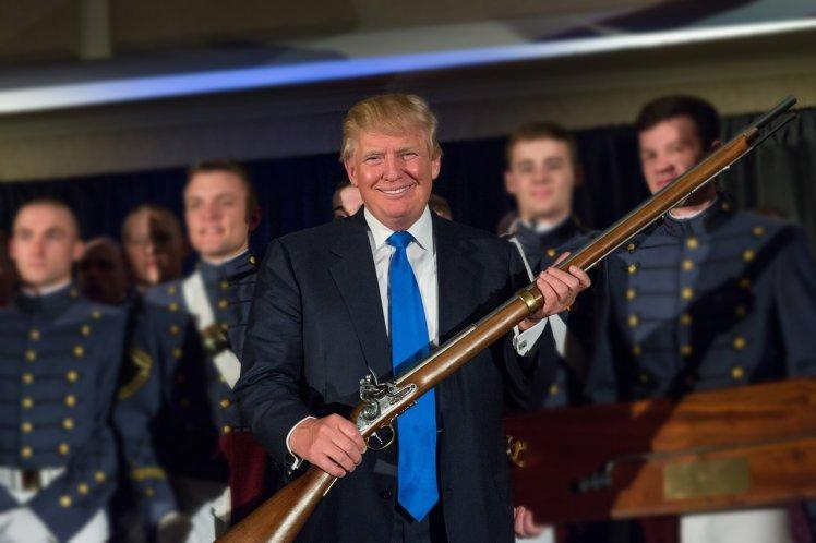 Trump Being Trump! US President Thinks Arming Teachers Can End Gun Violence In US Schools