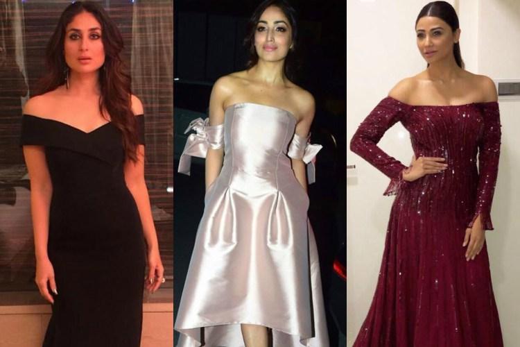 Kareena Kapoor, Yami Gautam, Daisy Shah donning off-shoulder sleeves