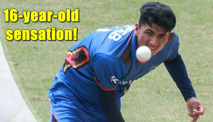 Afghan spin prodigy Mujeeb Zadran becomes youngest player to take 5-wicket haul in ODI cricket