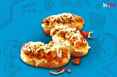 Baked Pizza Thunder Potato