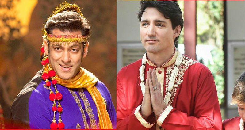 These pictures prove Justin Trudeau binge watched Sooraj Barjatya films before his India trip