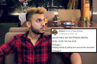 Shakul Gupta, Boyfriend For Rent