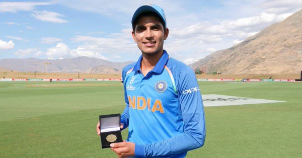 Shubhmn Gill/ Player of the Tournament ICC U19 WC 2918
