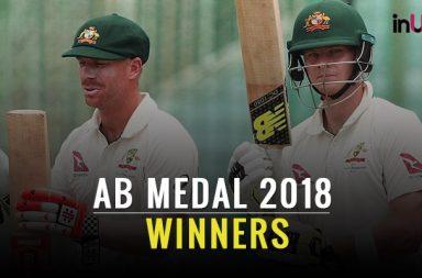 Allan Border Medal 2018