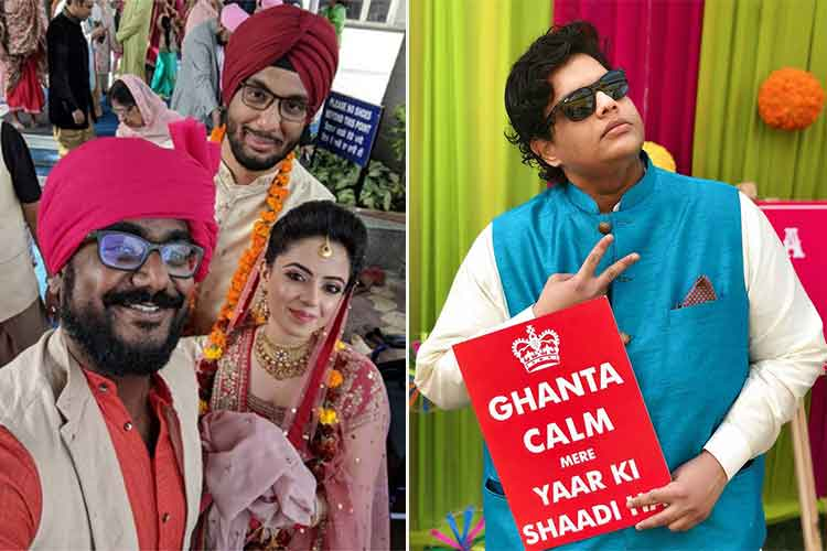 AIB's Gursimran Khamba's wedding photos