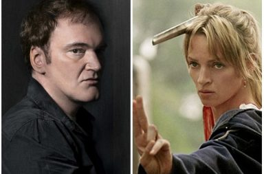 Quentin Tarantino, Kill Bill, Uma Thurman, Harvey Weinstein, Quentin Tarantino violence, Inglourious Basterds, The Hateful Eight