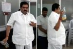 Video: When a neta almost set a govt office onfire