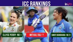 ICC Women ODI rankings: Mithali Raj loses No 1 spot to Ellyse Perry, Smriti Mandhana jumps 14 places