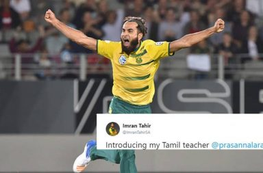 Imran Tahir has started learning Tamil ahead of playing for CSK in IPL 2018
