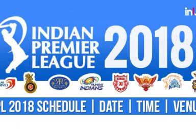 IPL 2018 Fixture | Date | Revised Timings