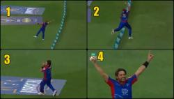 Shahid Afridi's super-athletic catch at boundary in PSL could challenge any new-era cricketer