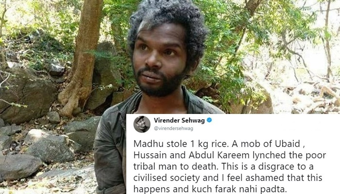Sehwag's Reaction To Kerala Adivasi Lynching Is Communal And Can Only Trigger Hatred