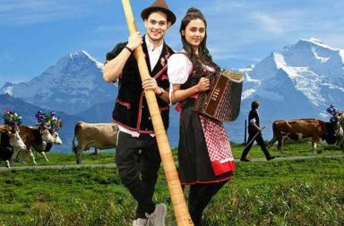 Priyank Sharma romances Tejasswi Prakash in Switzerland