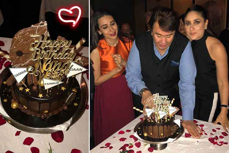 Karisma and Kareena celebrate Randhir Kapoor's birthday