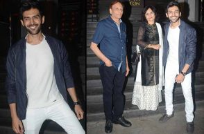 In Pics: Sonu Ke Titu Ki Sweety screening
