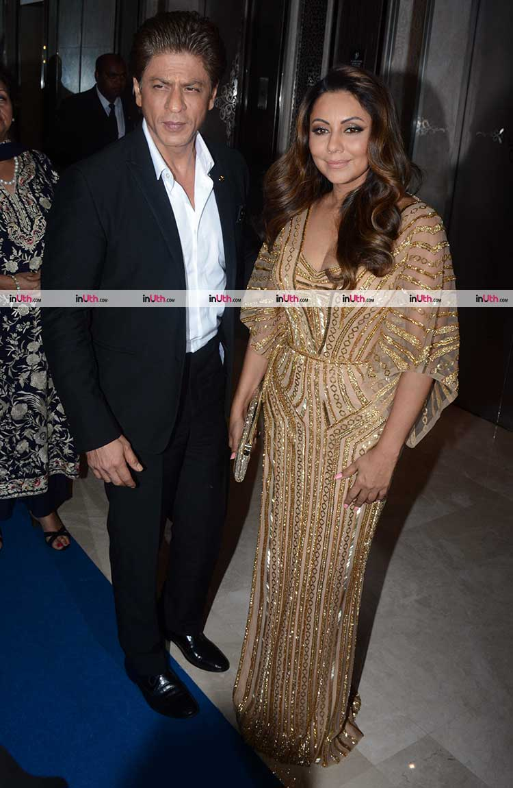 Shah Rukh and Gauri Khan on Hello Hall of Fame Awards 2018 red carpet