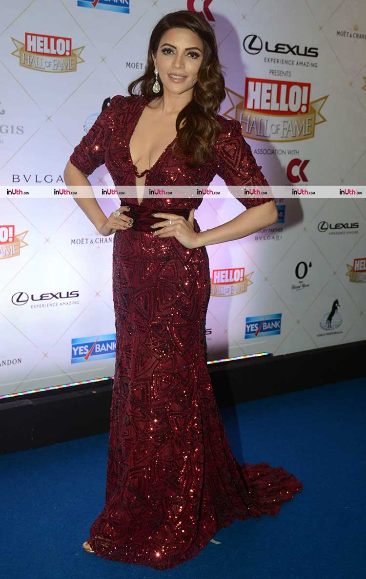 Shama Sikander on Hello Hall of Fame Awards 2018 red carpet