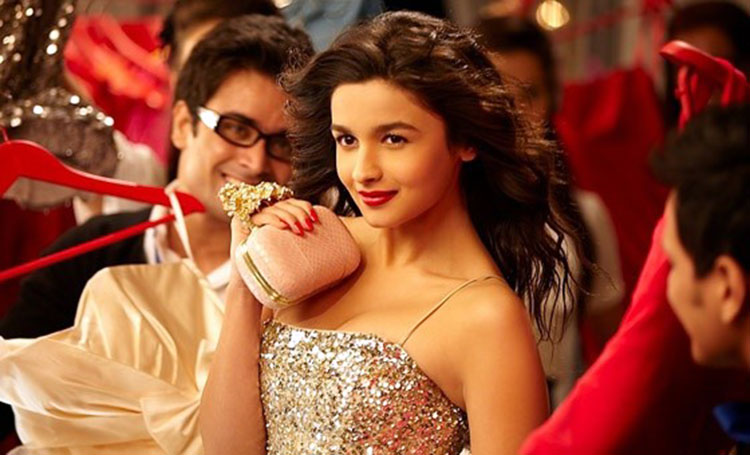 Alia Bhatt as a young college girl in Student Of The Year