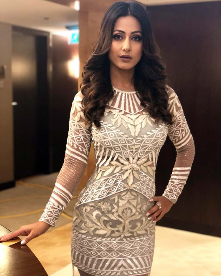 Hina Khan's hot look for an event in Dubai