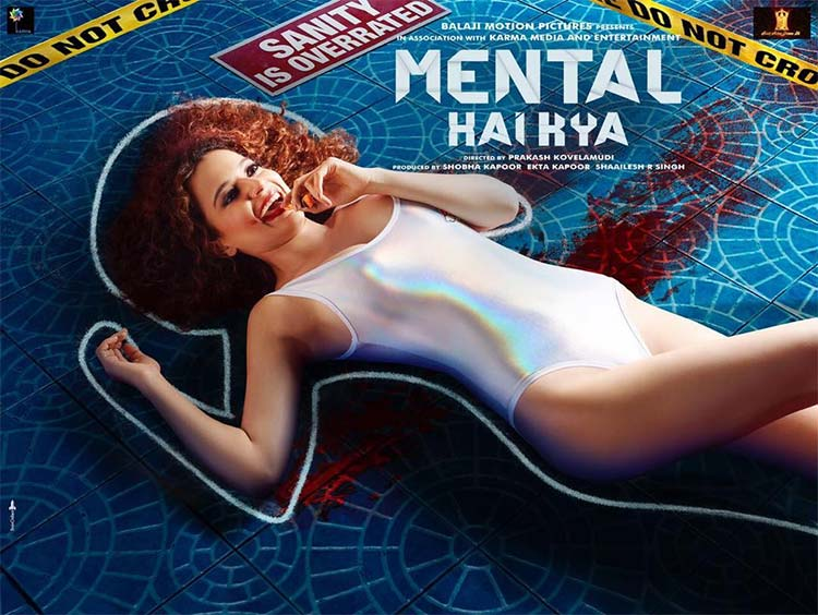 Kangana Ranaut looks insane in the new poster of Mental Hai Kya