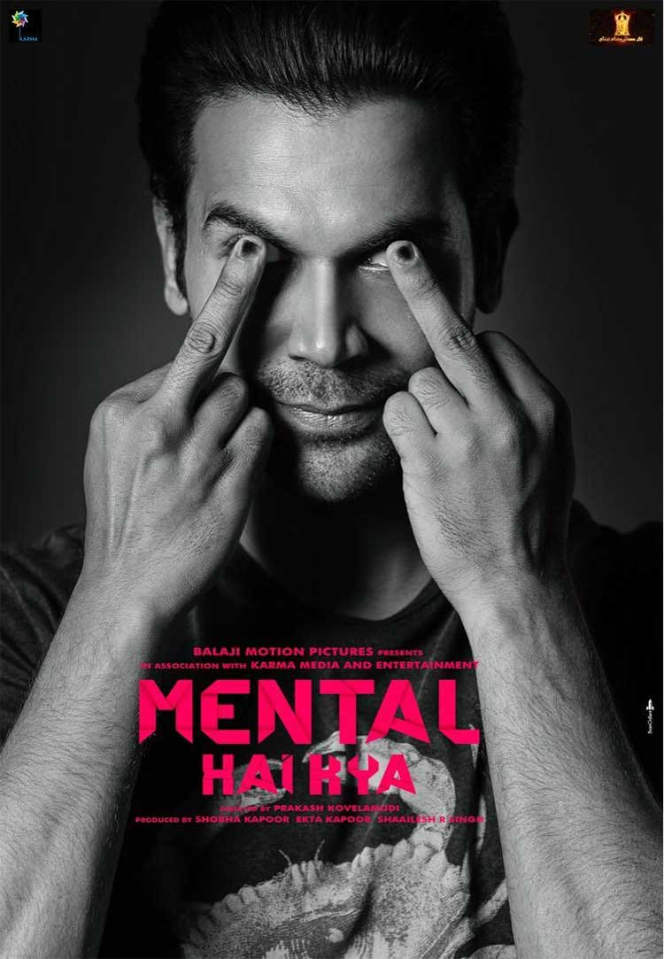 Rajkummar Rao's first look from Mental Hai Kya