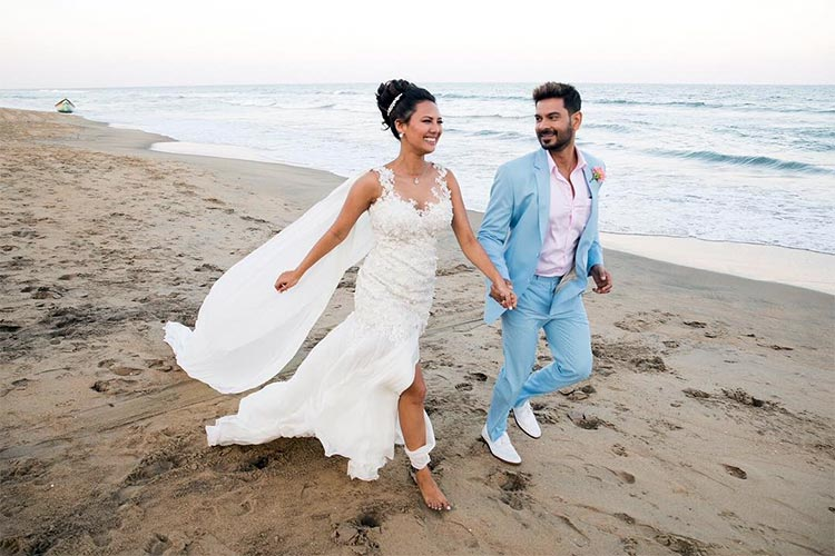 Rochelle Rao announces the news of her wedding on Instagram