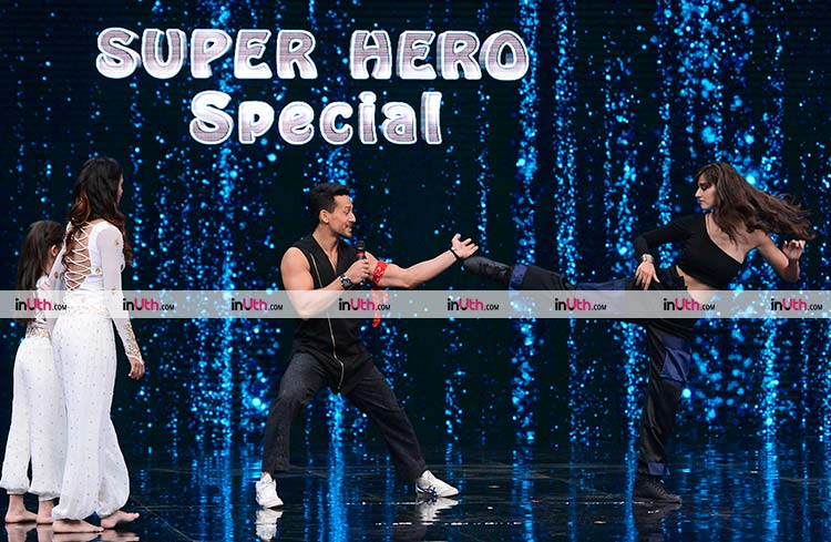 Tiger Shroff and Disha Patani on Super Dancer 2 to promote Baaghi 2