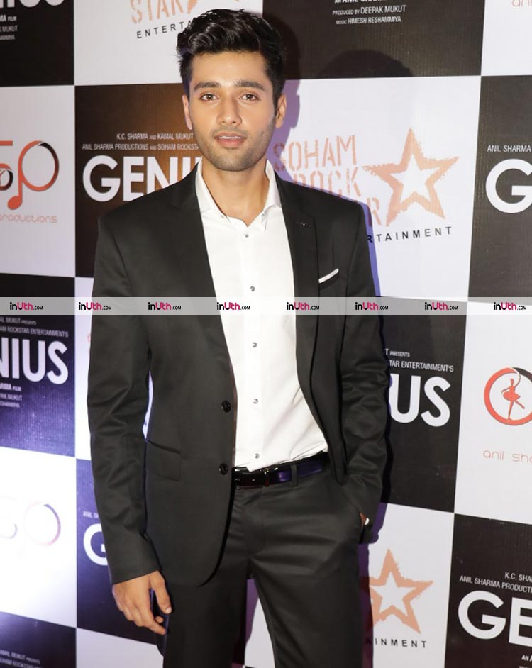 Utkarsh Sharma at the wrap-up party of Genius