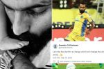 Tweeps Laud Footballer CK Vineeth Writing 'NIL' Religion On Son's Birth Certificate