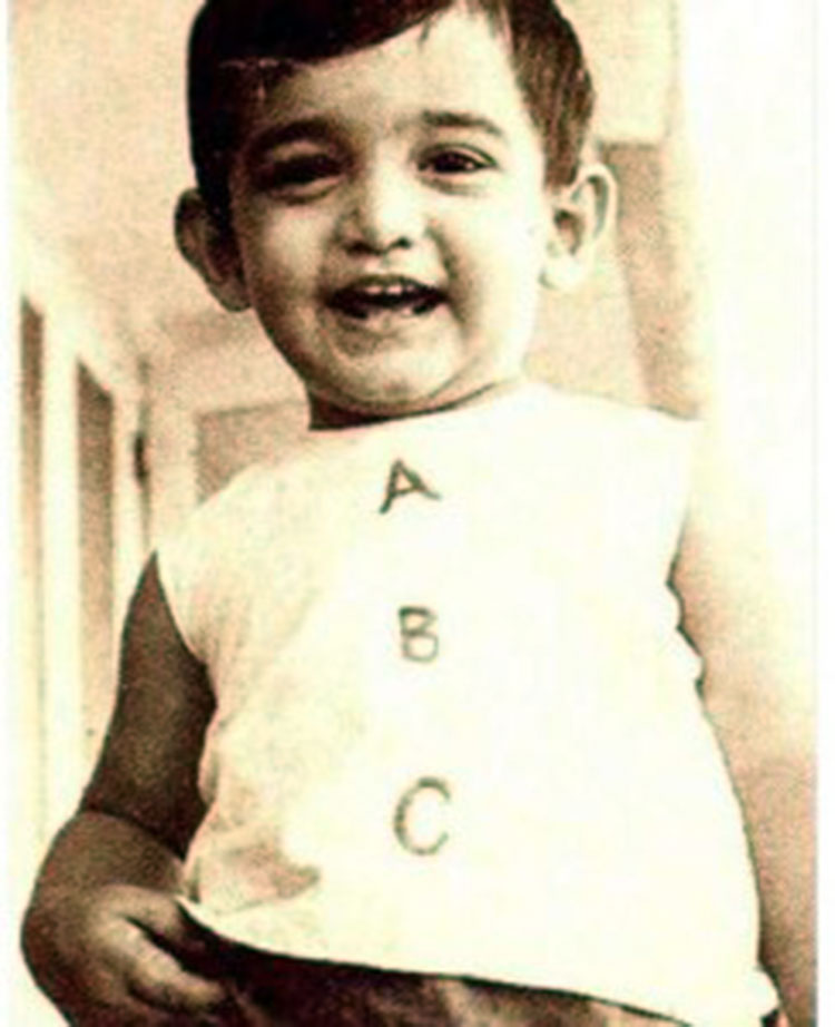 Aamir Khan had got the cutest baby smile